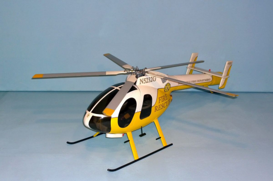MD Helicopters MD 520N 1:15