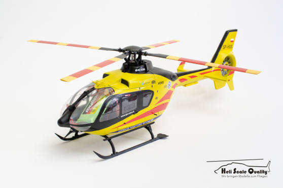 Eurocopter EC 135 / EC 635 (Airbus Helicopters H135) 1:18