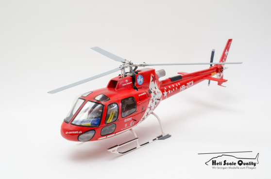 Aerospatiale AS 350 (Airbus Helicopters H125) Ecureuil 1:18