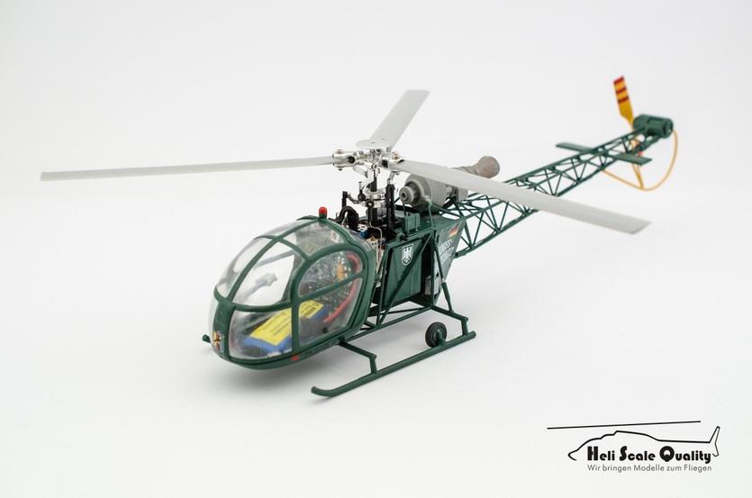 Sud Aviation SA 318C Alouette II 1:32