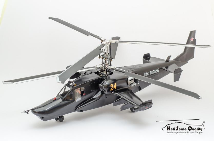 Kamov Ka-50 Werewolf / Black Shark 1:24