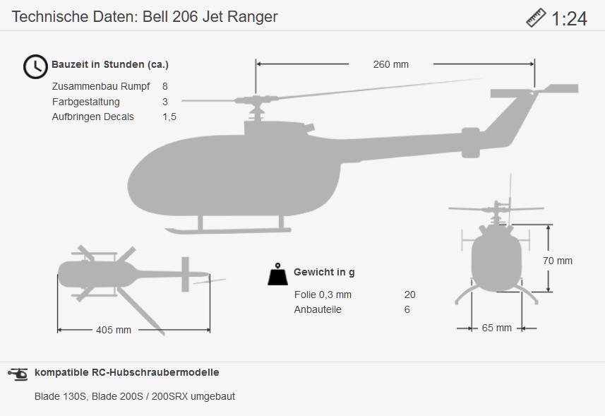 Masse Bell 206 1:24