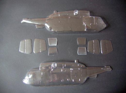 Ka-29 - Folieteile 0.3 mm