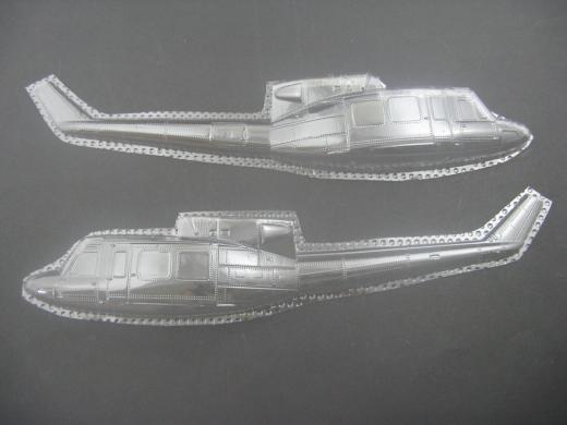 UH-1N / Bell 212 Twin Huey - Folieteile 0.2 mm