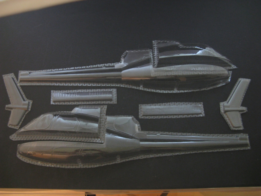AS 350 - Folieteile 0.3 mm