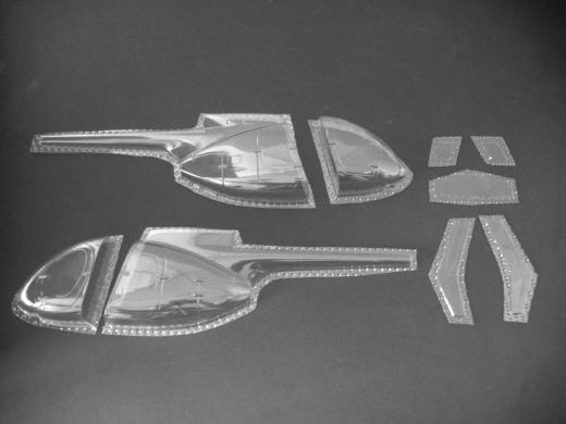 MD 500E - Folieteile 0.2 mm