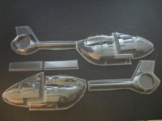H145 / EC 145 T2 - Folieteile 0.3 mm