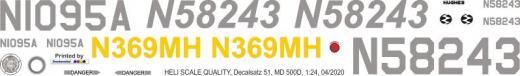 MD 500D - Magnum Cooper - Decal 51 - 1:35