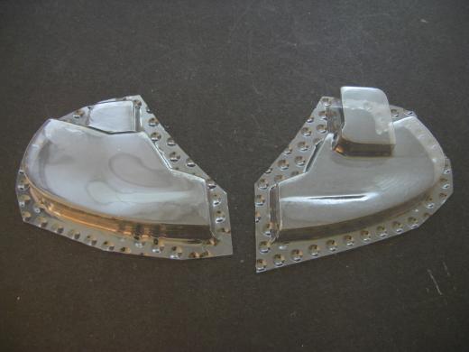 SA 341 - Folieteile Instrumententafel Kabine