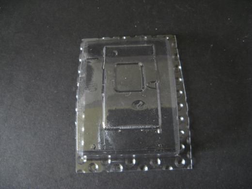AW 101 - Folieteile schmale Tür