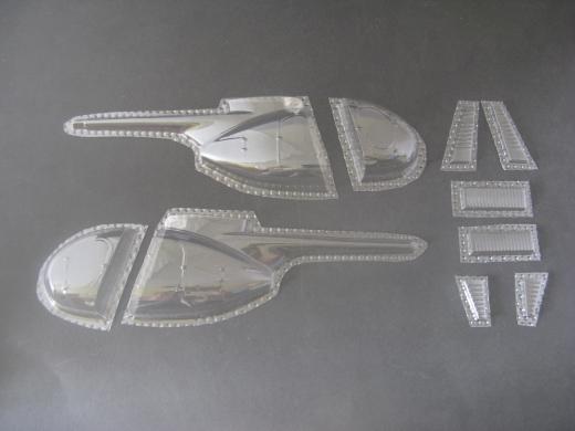 OH-6A - Folieteile 0.2 mm