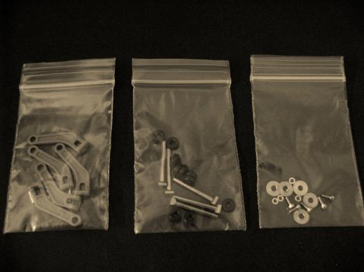 Anlenkungen und Blattlagerwellen für Mehrblattkopf (5)