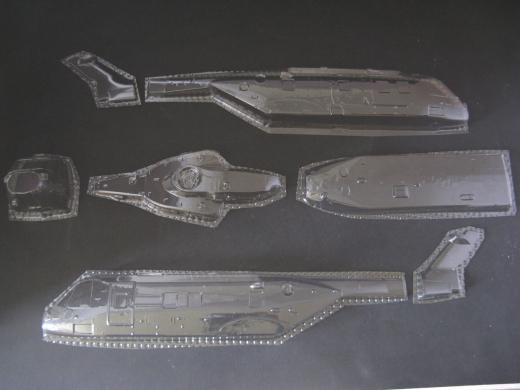AW 101 - Folieteile 0.3 mm