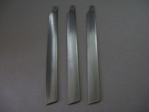 Rotorblätter symmetrisch Dreiblatt 190 mm