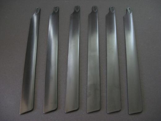 Rotorblätter symmetrisch Sechsblatt 210 mm