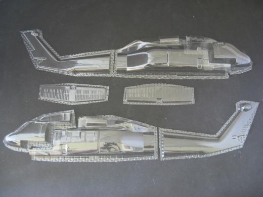UH-60 - Folieteile 0.3 mm