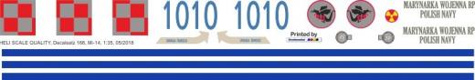 Mi-14 - Polnische Navy - Decal 168 - 1:35