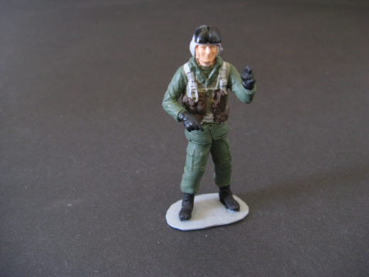 Figur Pilot 11 stehend 1:35