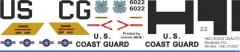 HH-60 - US Coast Guard - Decal 272
