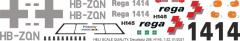 H145 / EC 145T2 - REGA - HB-ZQN - Decal 288 - 1:32