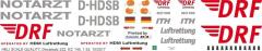 EC 145 - DRF - D-HDSB - Decal 222 - 1:24