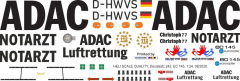 EC 145 - ADAC - D-HWVS - Decal 242 - 1:24
