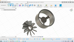 Fenestron / Impeller 50 mm OMP M2