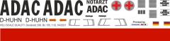 Bo 105CB - ADAC - D-HUHN - Decal 299 - 1:24