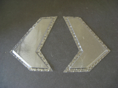 Bell 222 - Foil parts wider tail unit 0,3 mm