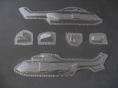EC 225 - Folieteile 0.2 mm - 1:72