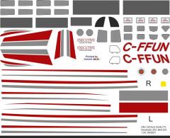 Bell 222 - C-FFUN - Decal 303 - 1:48