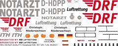 EC 145 - DRF - D-HDPP - Decal 304 - 1:32