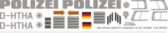 Bo 105CBS - Polizei Thüringen - D-HTHA - Decal 310 - 1:24