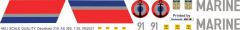 AS 365 - Frankreich Marine - Decal 316 - 1:24