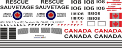 CH-118 - Canadian Armed Forces - Decal 124
