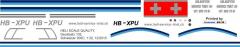 Schweizer 300C - Triet AG - HB-XPU - Decal 102 - 1:32