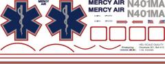 Bell 412 - Mercy Air - N401MA - Decal 261