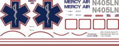 Bell 412 - Mercy Air - N405LN - Decal 262