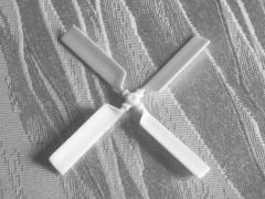Heckrotor Vierblatt 58 mm (S-58)