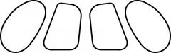 MD 520N - Decal Fensterrahmen - 1:15