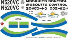MD 520N - Mosquito Control - N520VC - Decal 170 - 1:15