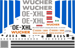 AS 350 - Wucher Helicopter - OE-XHL - Decal 269