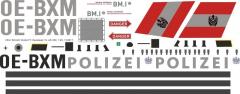 AS 350 - Polizei Österreich - OE-BXM - Decal 15 - 1:48