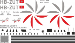 AS 350 - Swiss Jet - HB-ZUT - Decal 128
