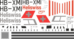 AS 350 - Heliswiss - HB-XMI - Decal 119