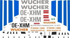 AS 350 - Wucher Helicopter - OE-XHM - Decal 83 - 1:48