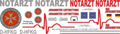 AS 365 - Johanniter-Luftrettung - D-HFKG - Decal 117