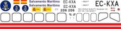 W 139 - Salvamento Maritimo - EC-KXA - Decal 134 - 1:48