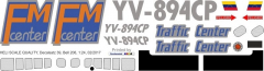 Bell 206 - Traffic Center - YV-894CP - Decal 39
