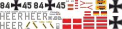 CH-53 - Bundeswehr Heer 84+45 - Decal 121